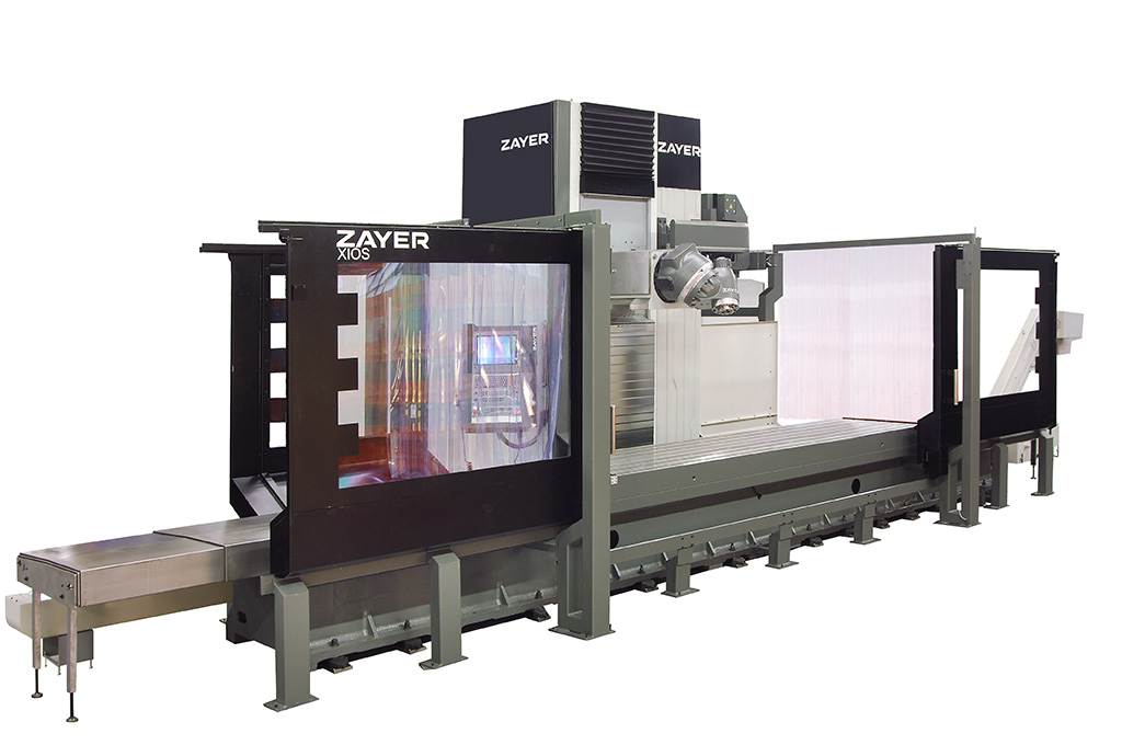 ZAYER Bed type milling machine XIOS 3000